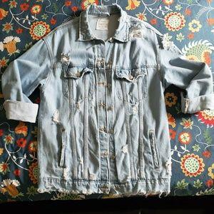 Bershka Vintage style Jean Jacket.